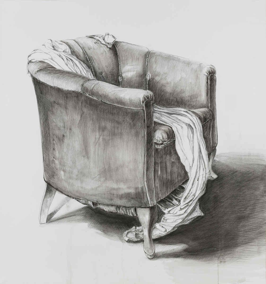 Sessel Zeichnung Bleistift