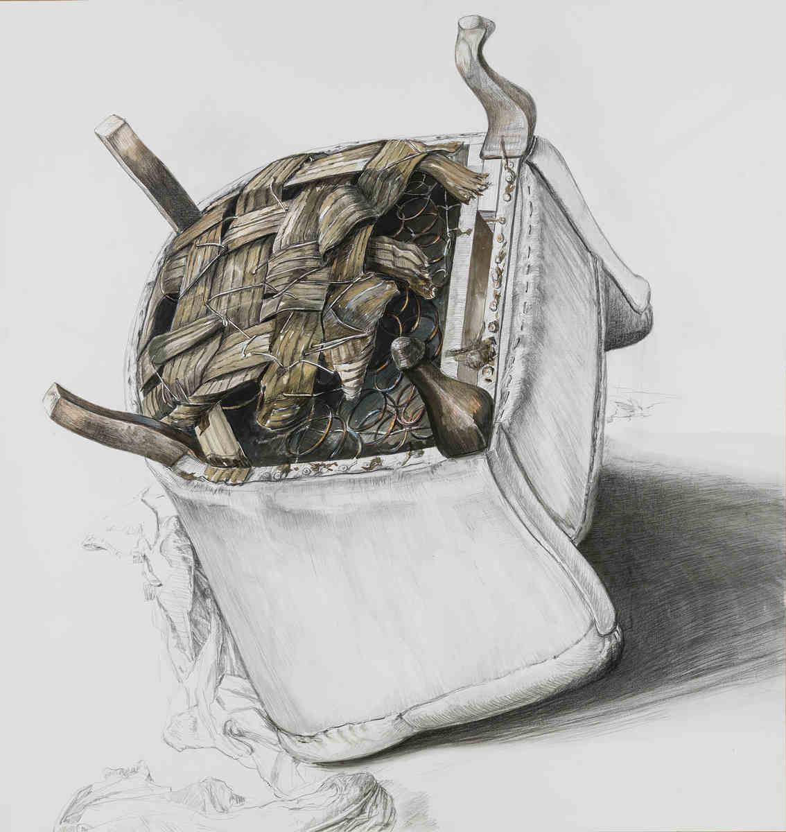 Sessel zeichnung bleistift  ZEICHNUNGEN – Stefan S. Schmidt